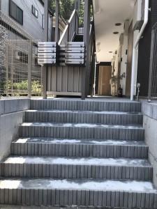 階段・集合ポスト